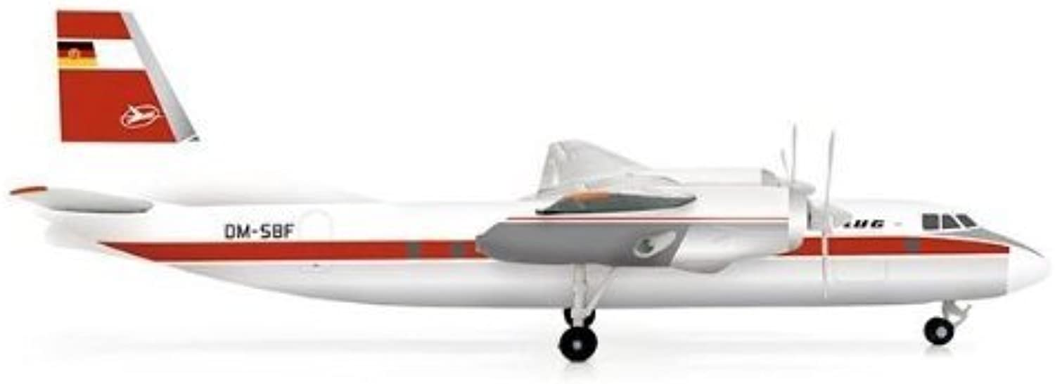 El ultimo 2018 Herpa Herpa Herpa 200 Scale COMMERCIAL-PRIVATE HE554374 Interflug AN-24V 1-200 by Herpa 1 200 Scale Military  centro comercial de moda