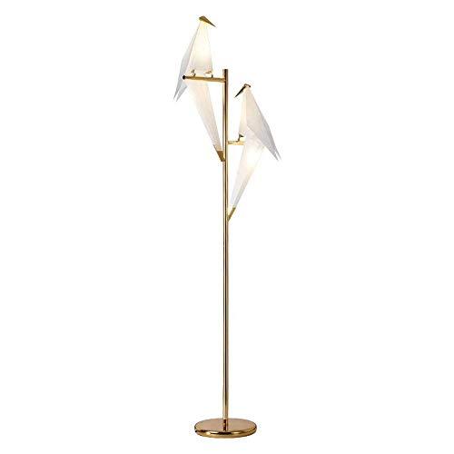 Ledlamp, Nordic Art Twee vogels, decoratie, beurs, schaduw, lamp, geschikt voor woonkamer, Villas, studie enz.