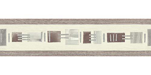 Only Borders 8 selbstklebende Borte - Material: in beige, braun, creme (Nr. 7689-3017)