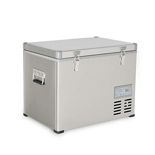 Kalamera 1.6 Cu. ft 40 Quart Portable Refrigerator/Freezer Stainless-steel AC 110V / DC 12/24V (KRC-45SS)