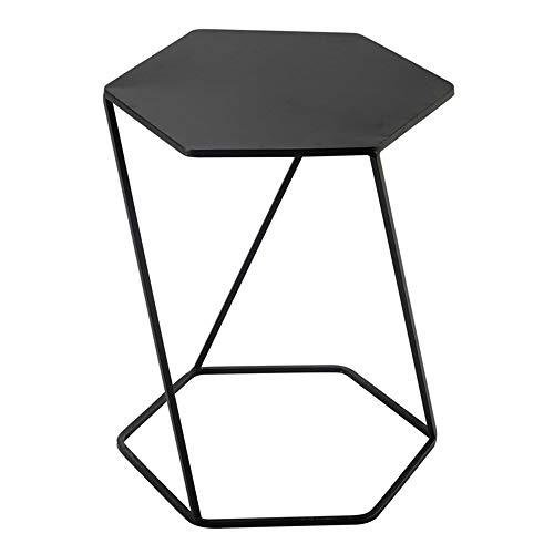 FEI Canapé-lit d'appoint de table de Conner de table latérale de fer de nidification pour le métal de salon 45 * 40 * 55cm