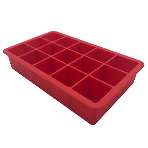 DWQuee bandeja de silicona para cubitos de hielo, cubo de hielo especial para fiestas, creativos para el hogar, bandeja de hielo de silicona para bebidas, cócteles y vino