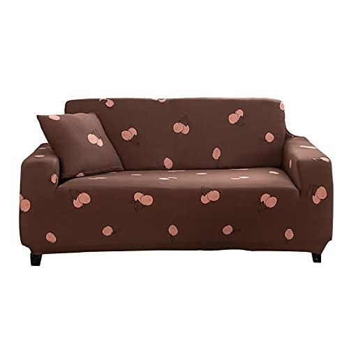 WXQY Funda de sofá elástica para Sala de Estar, Funda de sofá combinada, cojín, Funda Protectora para Muebles, Funda de sofá Antideslizante A25, 1 Plaza