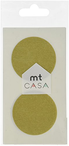 MT CASA 50 mm Seal Circle Sticker Goud