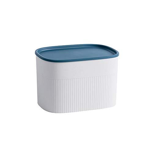TYV wc-wand-gemonteerde weefseldoos, waterdichte ladekast, milieuvriendelijk PP-materiaal, handige opslag 21,8 * 14,2 * 13,8 cm