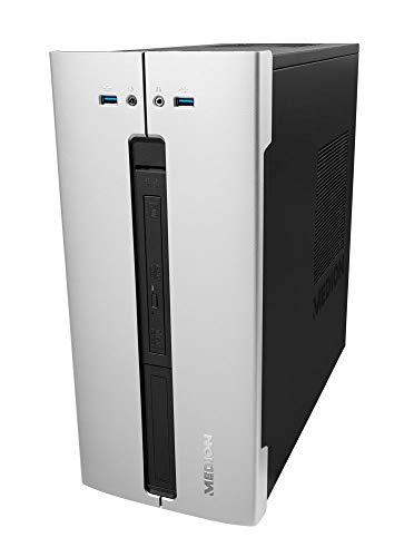 MEDION P62018 Desktop PC (Intel Core i5-9400, 8GB DDR4 RAM, 512GB PCIe SSD, DVD, Win 10 Home)
