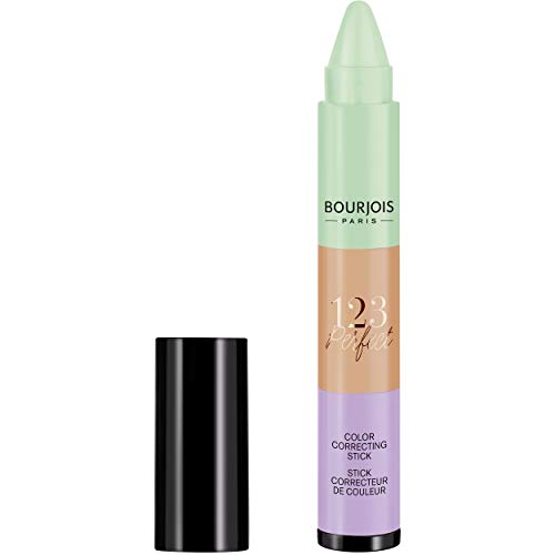 Bourjois - Anti-Cernes 1.2.3 Perfect - Stick Correcteur 3 Couleurs - Unique 2,4gr