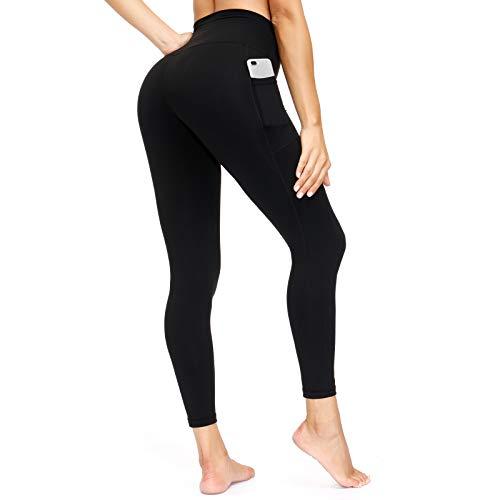 Ponamfo Yoga Pants for Women, High Waisted Workout Leggings for Women, Womens Leggings Tummy Control Leggings with Pockets