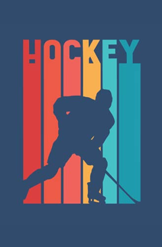 Hockey: Hockey Game result Book - Team Notebook with 100 dotted Pages - Hockey Trainer gifts Sport Journal