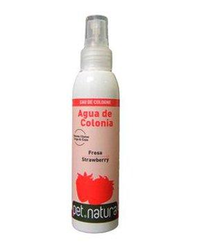 PetNatura Agua de Colonia de Fresa 125 ML. para Perros y Gatos