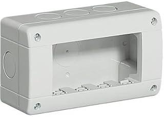 Bticino Mecanismos Plexo-Idrobox 24404 - Ib-Caja Ip40 4M Grey