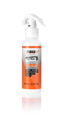 Styling by Fudge Tri-Blo Prime Shine and Protect Blow-Dry Spray 150ml by Fudge