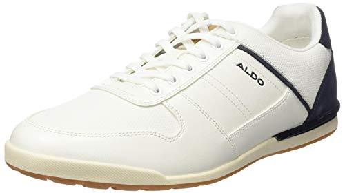 ALDO Herren PRINCEPHILIPS Oxford-Schuh, weiß, 44 EU