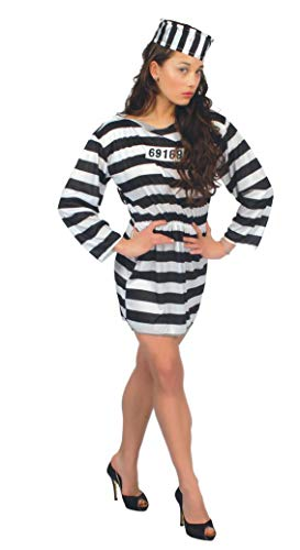 Fiestas Guirca Prisonnière Adulte l 42-44 Costume pour Adulte