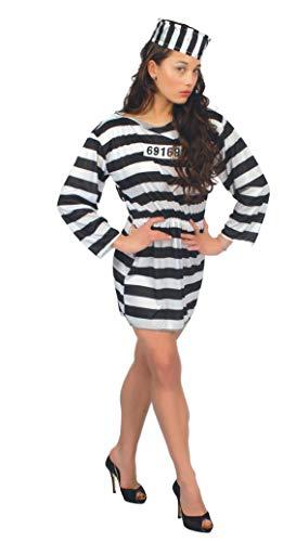 Guirca 80196 - Prisionera Adulta Talla L 42-44