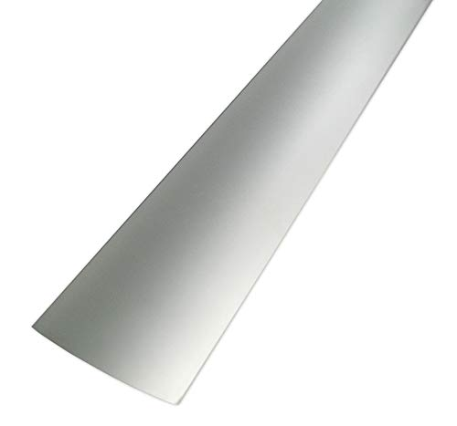 FUCHS Glassteinabschlussprofil Rund für 8cm starke Glassteine – Aluminium Satiniert 1 m Länge