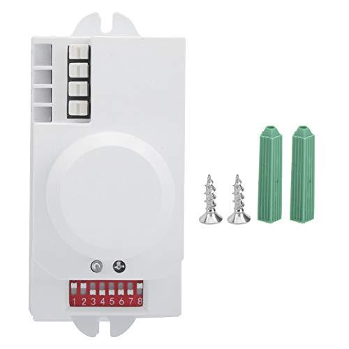 Qqmora Sensor de Interruptor de microondas de 5,8 GHz, Sensor de Radar de microondas de identificación precisa para componentes electrónicos