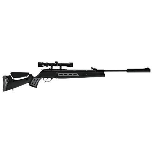 Hatsan Model 125SN Spring Combo .25cal Airgun, Black (HC125SN25)