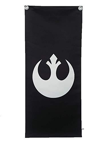 Designed By Banner de pared Star Wars Rebel Alliance Logo Banner