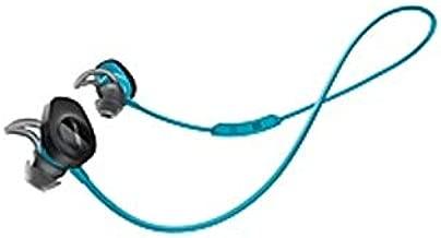 Bose SoundSport Wireless Headphones - Stereo - Wireless - Bluetooth - Earbud - Binaural - in-Ear - Aqua (Certified Refurbished)