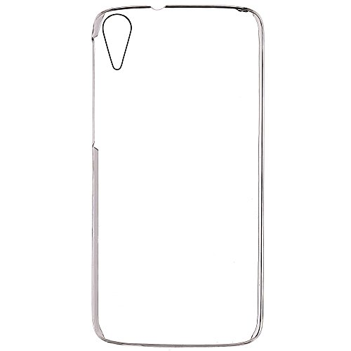 Gioiabazar Crystal Clear Transparent Hard Back Case Cover for HTC Desire 828