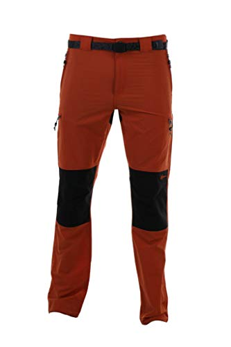 NEWWOOD - Pantalón Senderismo y Trekking 6319044 Hombre Naranja 52