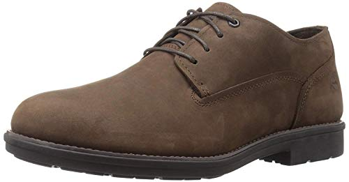 Timberland Herren Stormbuck Plain Toe Waterproof Oxford Schuhe, Braun (Burnished Dark Brown Oiled), 46 EU