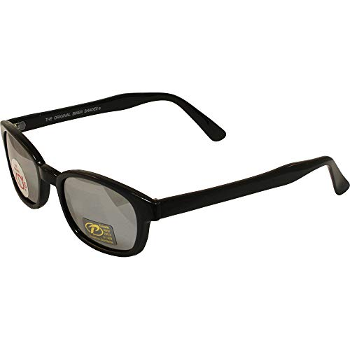 Original KD's UK X Kd Sonnenbrille Silber Spiegel d Objektiv Sonnenbrillen Größe Uv400 von Original Kd Sonnenbrille der Kd X Large Rauch
