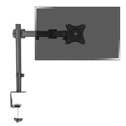 BeMatik - Knikarm met mast voor monitor en LCD-scherm VESA75 VESA100 model LDT07-C012