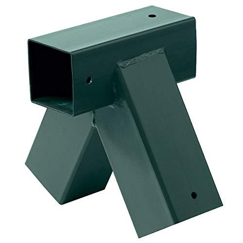 Schaukelverbinder grün, für Kantholz 9x9 cm, lose