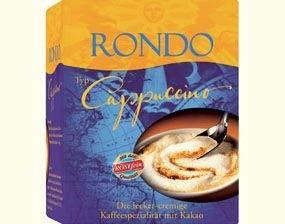 Cappuccino Rondo 10x Tassenportionen Röstfein - nostalgische DDR Kultprodukte