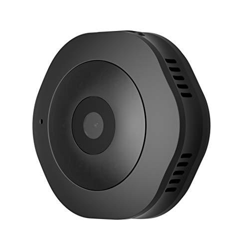 Conquro Cámara H6 Mini Sports DV 120 ° HD 1080P Mini IP Vigilancia Micro Cámara Familiar Cámara de visión Nocturna Sports DV Mini Cámara Grabadora (Negro)