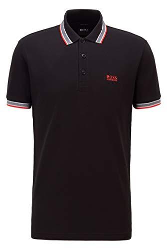 BOSS Paddy 10212415 01 Camisa de Polo, Black8, M para Hombre