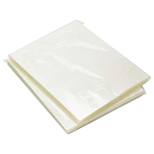 RyhamPaper - Bolsas térmicas para laminado, 22,8 x 29,5 cm, tamaño de carta, 5 m, 100 unidades