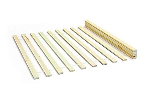 Inter Link 30400295 Lattenrost 140x200 cm Rolllattenrost Rollrost Bettrost Holzlatten Kiefer massiv