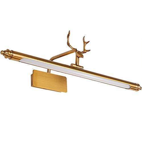American Geweih Spiegel Scheinwerfer führte Spiegel Lampe Badezimmer Schminktisch Lampe Spiegel Schrank Make-up Lampe Badezimmer Lampe