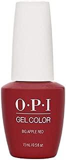 OPI GELCOLOR SEMI PERMANENT BIG APPLE RED 15ML/0.5FL.OZ.