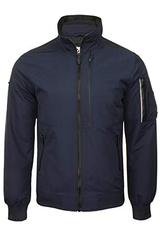 Superdry Uomo Giacca Bomber Moody Light Deep Navy S