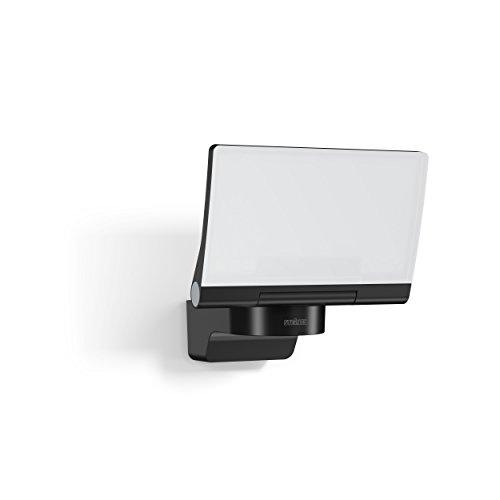 Steinel LED-Strahler XLED Home 2 Slave schwarz, 13 W Flutlicht, voll schwenkbar, 1443 lm, für Einfahrt, Hof und Garten
