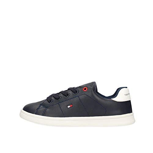 Tommy Hilfiger T3B4-30513-0740X007 - Zapatillas deportivas para niño, color azul