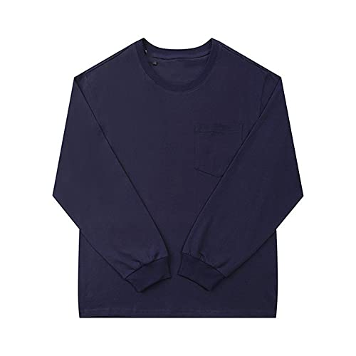 N\P Camisa de manga larga casual para hombre y mujer de primavera y verano
