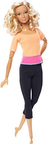 Barbie DPP75 - Bambola Snodata, Top Arancione