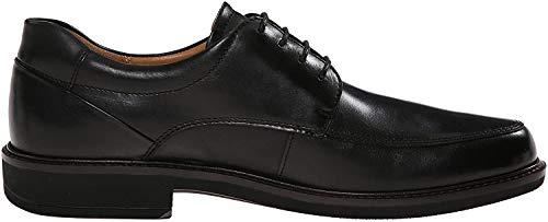 ECCO Men's Holton Apron Toe Tie, Black, 44 EU/10-10.5 M US