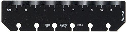 Filofax 213609 Pocket Lineal/Lesezeichen, schwarz