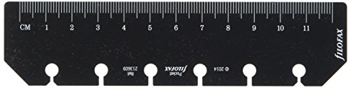 Filofax Pocket Ruler Page Marker - Black