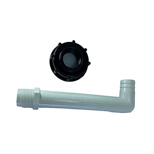 Milageto Adaptador de grifo de agua, conector de manguera de agua para jardinero, piezas de montaje, grifo con tamaño pequeño de alta calidad y servicio - B