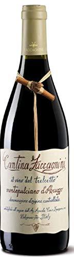 ZACCAGNINI Vino Rosso MONTEPULCIANO D ABRUZZO TRALCETTO BOTT 75 CL - IMBALLO DA 6 BOTTIGLIE DA 75 CL