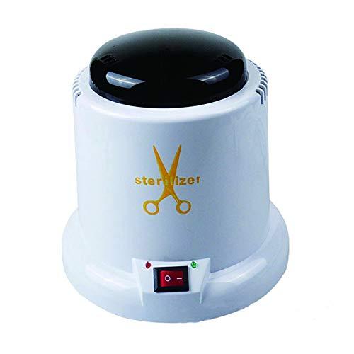 BEIAKE Desinfektion Sterilisator Hochtemperatur-Desinfektion Box, One-Touch-Schalter mit Quarz-Sand-Berufsnagel-Werkzeugen Desinfektion Cup für Nagelschere