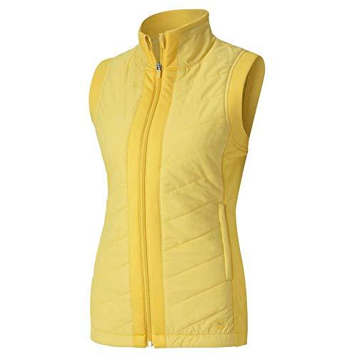 PUMA Damen Golf Women's 2020 Primaloft Vest Ärmellos, Super Lemon, Large