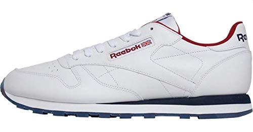 Reebok Herren Classic Retro Sneaker Weiß, 41